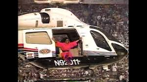 Dianaross.superbowl.helicopter