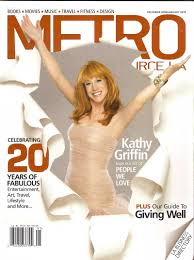 Metrosource.kathygriffin