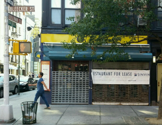 Restaurant for lease on bleecker