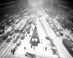 Weather - new york snow before 1950