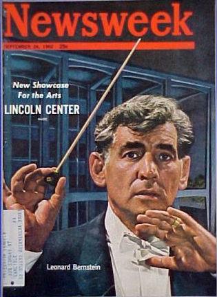 Newsweek_leonard bernstein sept 1962