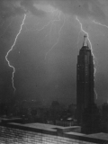 Thunderstorm in nyc 19302