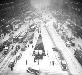 1935 snowstorm