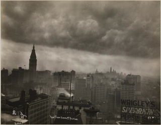 1920s stormy new york