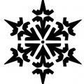 Clipart_styllized_snowflake