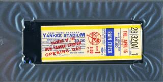 Yankeestadium.ticketstub