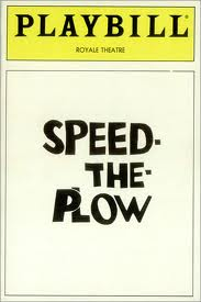 Playbill_speedtheplow