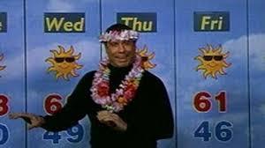 John travolta weatherman