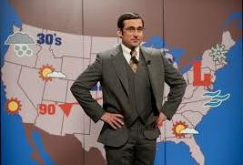 Steve carell weatherman