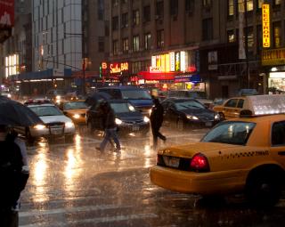 Rainy day nyc