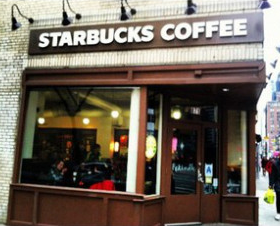 Starbucks 8th ave and 52nd st