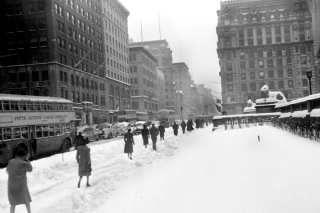 March 1941 snowstorm in nyc