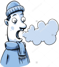 Clip art frosty breath