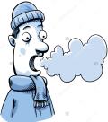 Clip art frosty breath