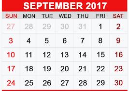 Sept 2017