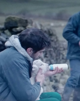 God's own country - gheorge with lamb