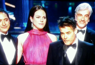 Daniela vega at oscars