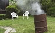 Burning.trash.in.backyard