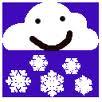 Clipart_snowfromsmilingcloud