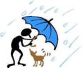 Clipart_master_dog_rain