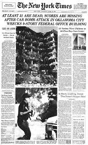 Oklahomacity.bombing.nytimes.frontpage