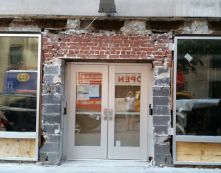 Eighth street eyesore