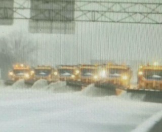 Phalanx of snowplows