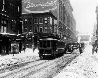 1930s snowstorm nyc