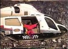 Dianaross.superbowl.helicopter
