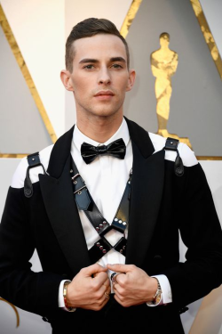 Adam rippon - 2018 oscars - getty images