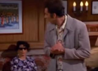 Seinfeld woman at cuban embassy